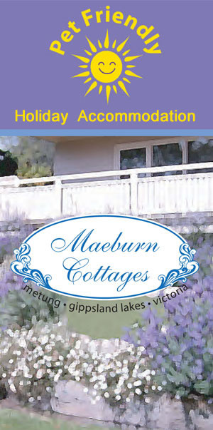 Maeburn Cottages, Metung - for a GREAT family holiday - Pet Friendly